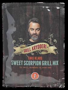 Bilde av Chili Klaus chilipulver sweet scorpion grill mix